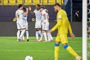Odion Ighalo celebrates after scoring his first goal for Al-Shabab football - 20210213 232008 300x200 - Football: Nigerian player, Odion Ighalo, off the mark for his new team  in Saudi Arabia football - 20210213 232008 - Football: Nigerian player, Odion Ighalo, off the mark for his new team  in Saudi Arabia