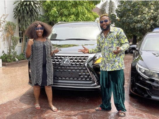 E-money e-money - E money - E-Money Dashes Out luxurious Cars to Celebrate his 40th Birthday