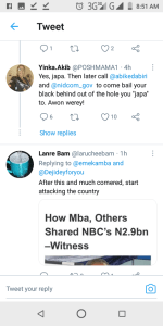 Nigerians Lash Out At Emeka Mba Former DG NBC Over Tweet emeka mba - Screenshot 20210206 085134 150x300 - Nigerians Lash Out At Emeka Mba Former DG NBC Over Tweet emeka mba - Screenshot 20210206 085134 - Nigerians Lash Out At Emeka Mba Former DG NBC Over Tweet
