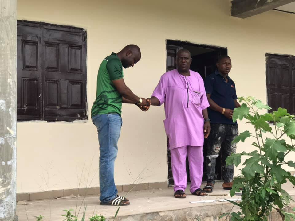 - 162351375 820076768589234 6591977017544410266 n - Promises Made, Promises Fulfiled: Dennis Idahosa Inspects Newly Completed Evbuonogbon Sec School At Ugbogui Ward