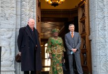 Okonjo-Iweala resumes at World Trade Organisation in her famous ankara prints