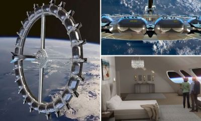 World First Space Hotel Voyager Class Space Station to Launch in 2027 world first space hotel - tel - World First Space Hotel, Voyager Class Space Station to Launch in 2027