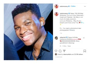 - Screenshot 20210420 085047 1 300x214 - Omotola Jalade Ekeinde Writes A Lovely Note To celebrate Her Son's Birthday Today