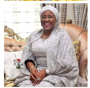 - Screenshot 20211004 100034 1 300x293 - Check Out Photos Of Nigeria's First Lady Slaying In Stunning Ensembles