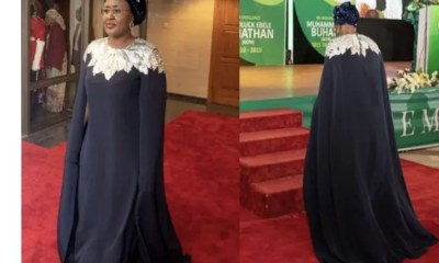 - Screenshot 20211004 100054 1 - Check Out Photos Of Nigeria's First Lady Slaying In Stunning Ensembles