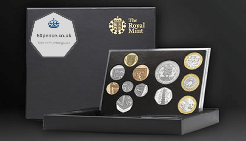 2009 UK Standard Proof Coin Set