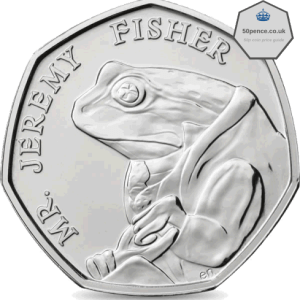Mr Jeremy Fisher 50p