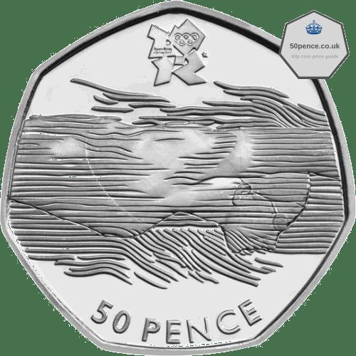 Aquatics 50p rare coin