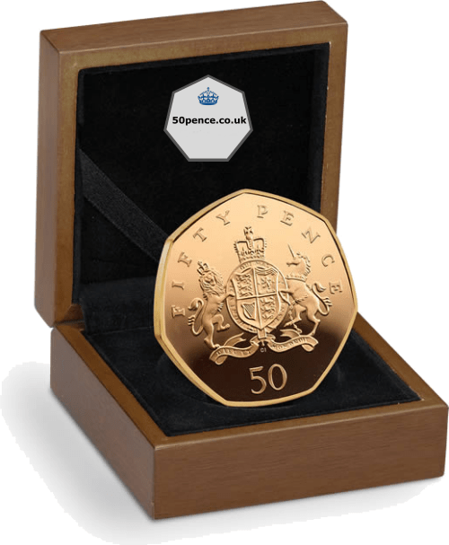 christopher ironside 50p gold proof