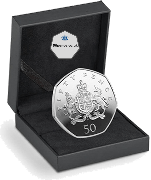 christopher ironside 50p silver proof