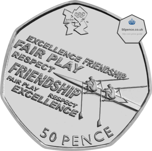 rowing 50p