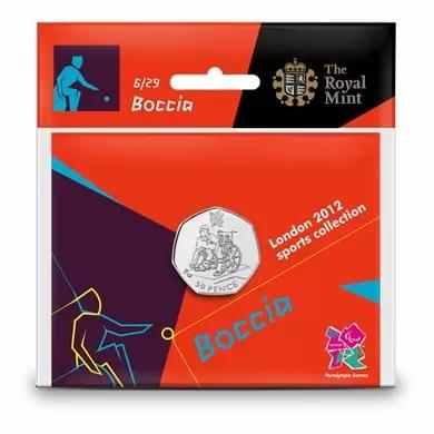 London 2012 50p Sports Collection - Boccia
