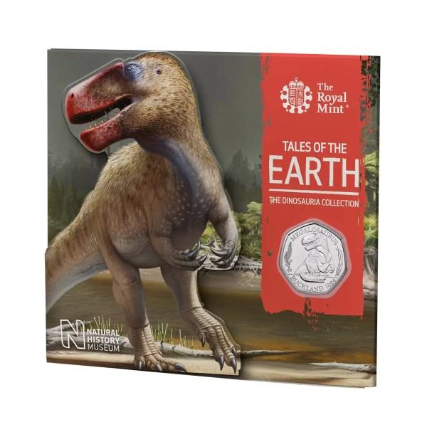 Megalosaurus 50p coin pack