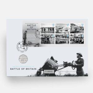 Battle of Britain 50p PNC