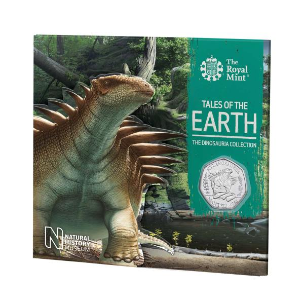Hylaeosaurus 50p Coin