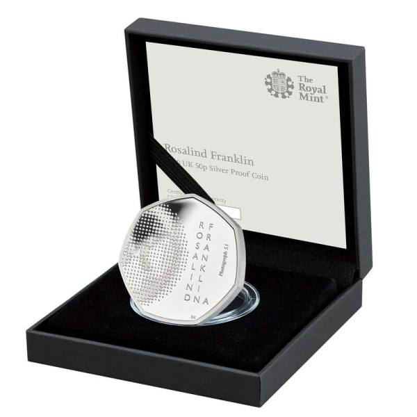 rosalind-franklin-50p-silver-coin