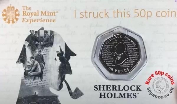 strike your own sherlock holmes 50p