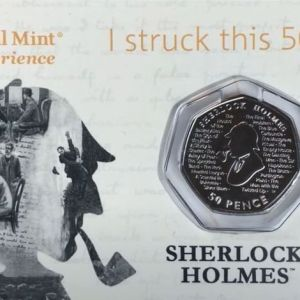 strike your own sherlock holmes 50p