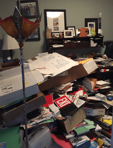 organize and declutter