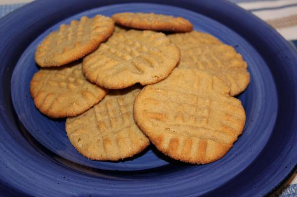 ice box peanut butter cookies