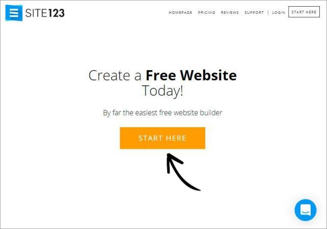 free website builder beginner