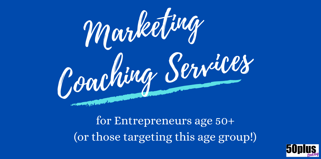 50plus marketing coach