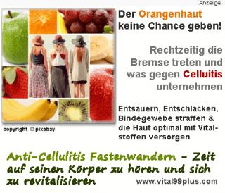 Fastenwandern - um der Orangenhaut keine Chance zu geben