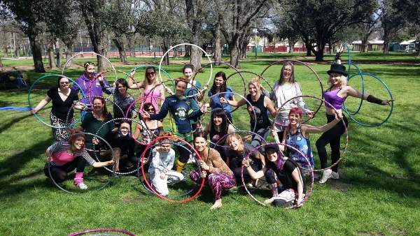 hooping is great for meeting friends