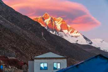 Namche Bazaar village is a popular spot with Mt Everest Base Camp trekkers.