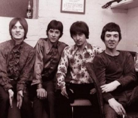 Left to right: Steve Marriott, Ian McLagan, Kenney Jones and Ronnie Lane