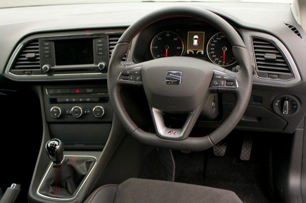 2013 Seat Leon FR interior