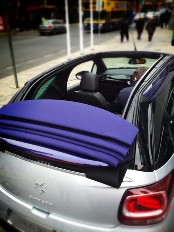 Citroen DS3 Cabrio roof