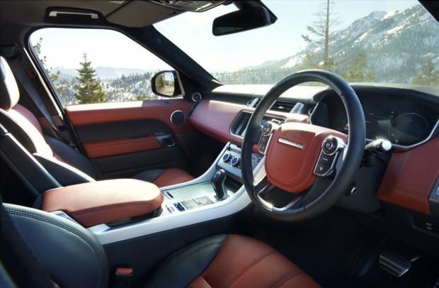 New Range Rover Sport interior