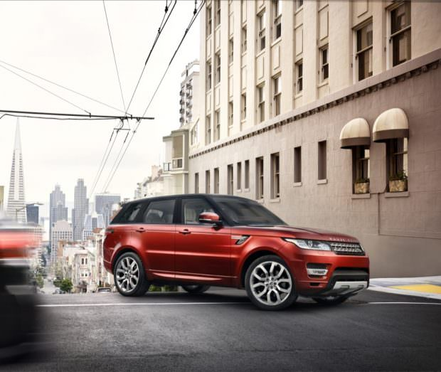 New Range Rover Sport city