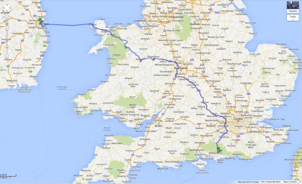 Octavia RS trip