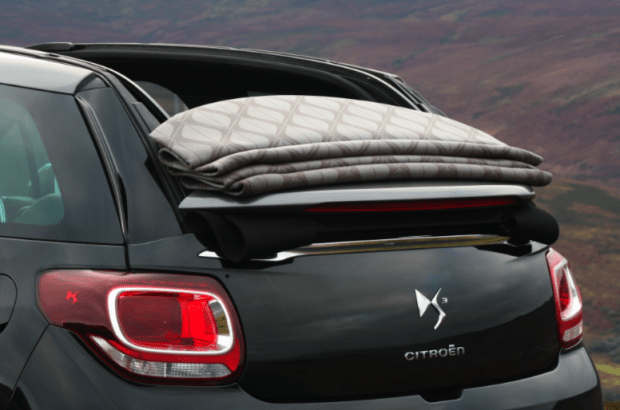 Citroen DS3 Cabrio roof