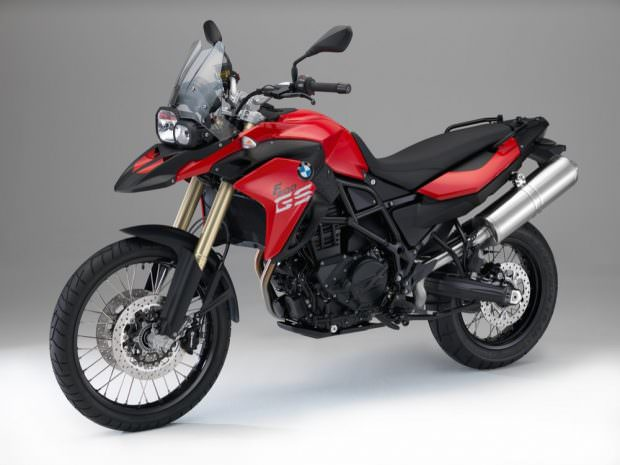 2015 F800 GS Red