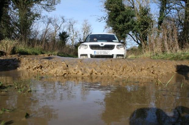 Skoda Yeti water front