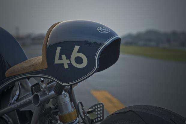 Clubman Racer rear