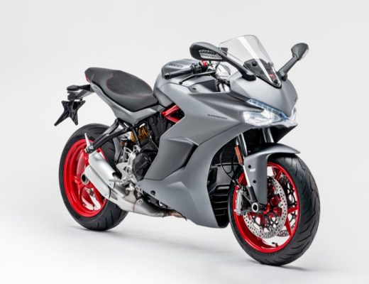 Ducati Supersport front quarter lights