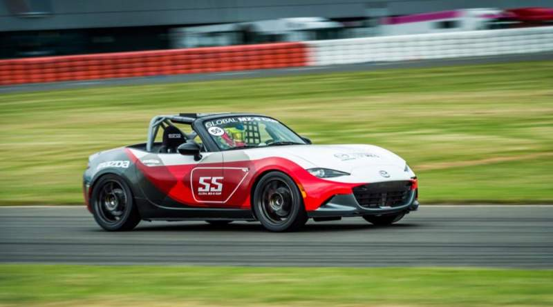 Mazda MX-5 race car