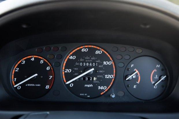 Honda CR-V dials