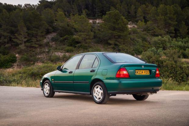 Honda Civic 1995 rear