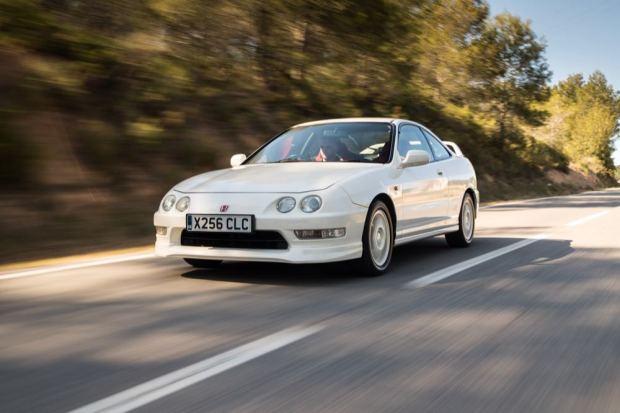 Honda Integra driving
