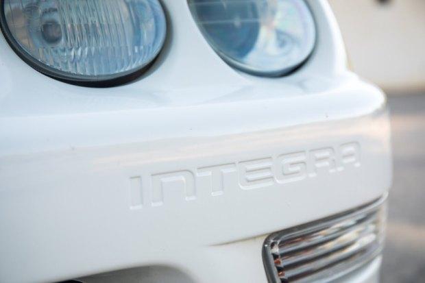 Honda Integra badge
