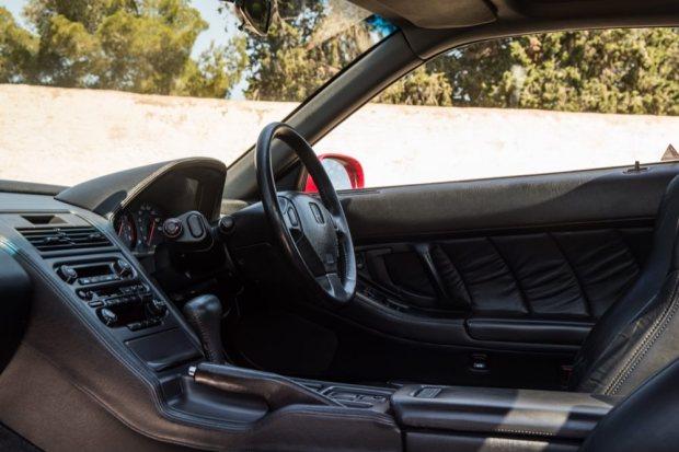 Honda NSX interior