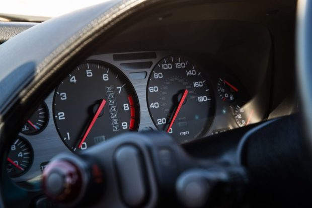 Honda NSX dials