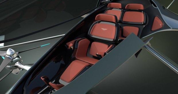 Aston Martin Volante Vision Concept interior