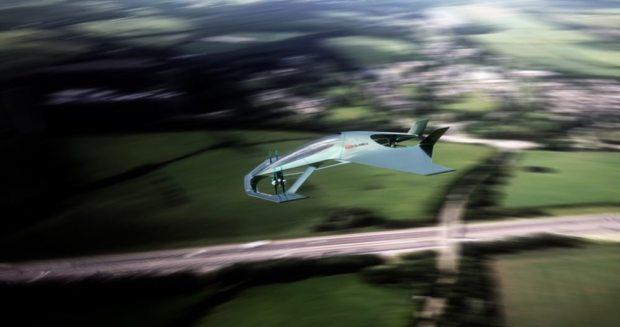 Aston Martin Volante Vision Concept in motion