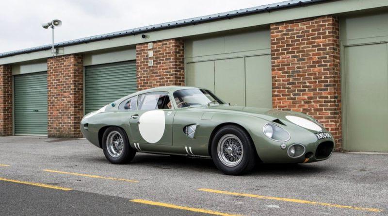 Aston Martin DP215 parked